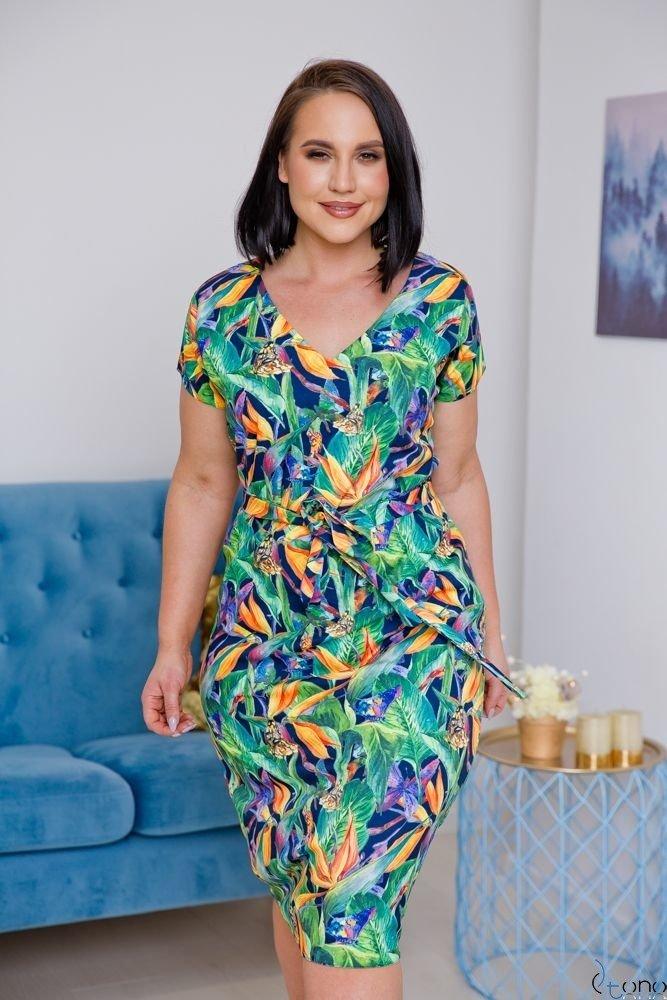 Sukienka VERDINA Plus Size Wzór 1