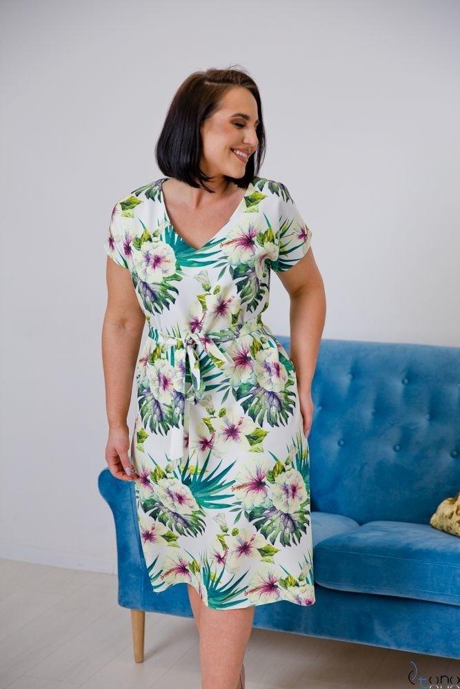 Sukienka VERDINA Plus Size Wzór 3