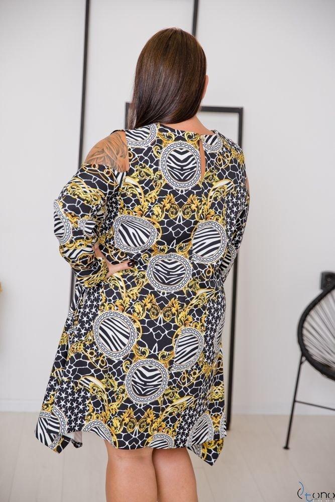 Sukienka VIRAGO Plus Size Wzór 11