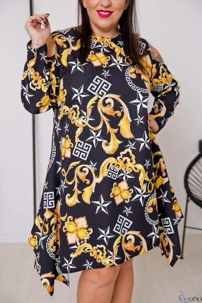 Sukienka VIRAGO Plus Size Wzór 5