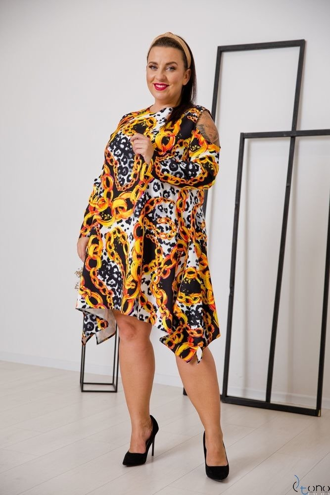 Sukienka VIRAGO Plus Size Wzór 9