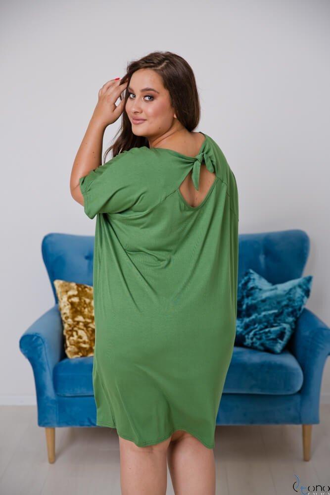 Zielona Sukienka  ARCERIA Plus Size