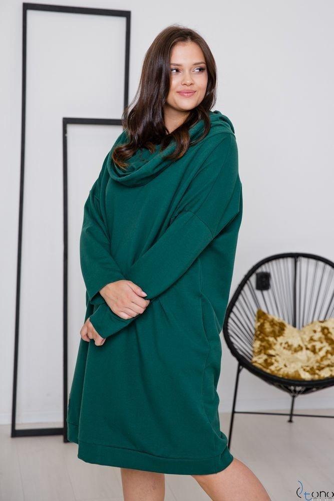 Zielona Sukienka MURADO Plus Size