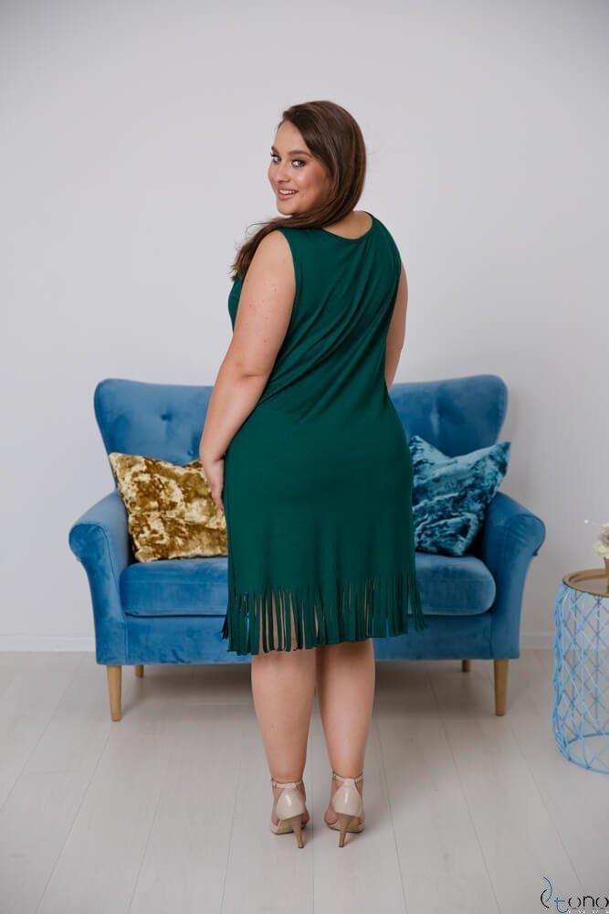 Zielona Sukienka NAPPA Plus Size