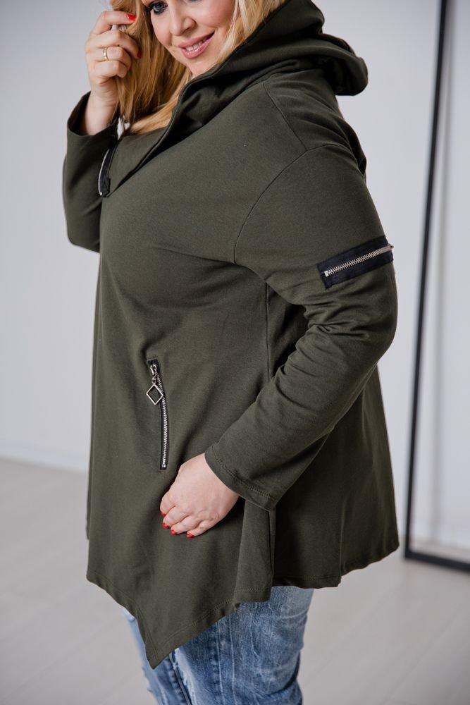 Bluza ONEA Khaki Plus Size