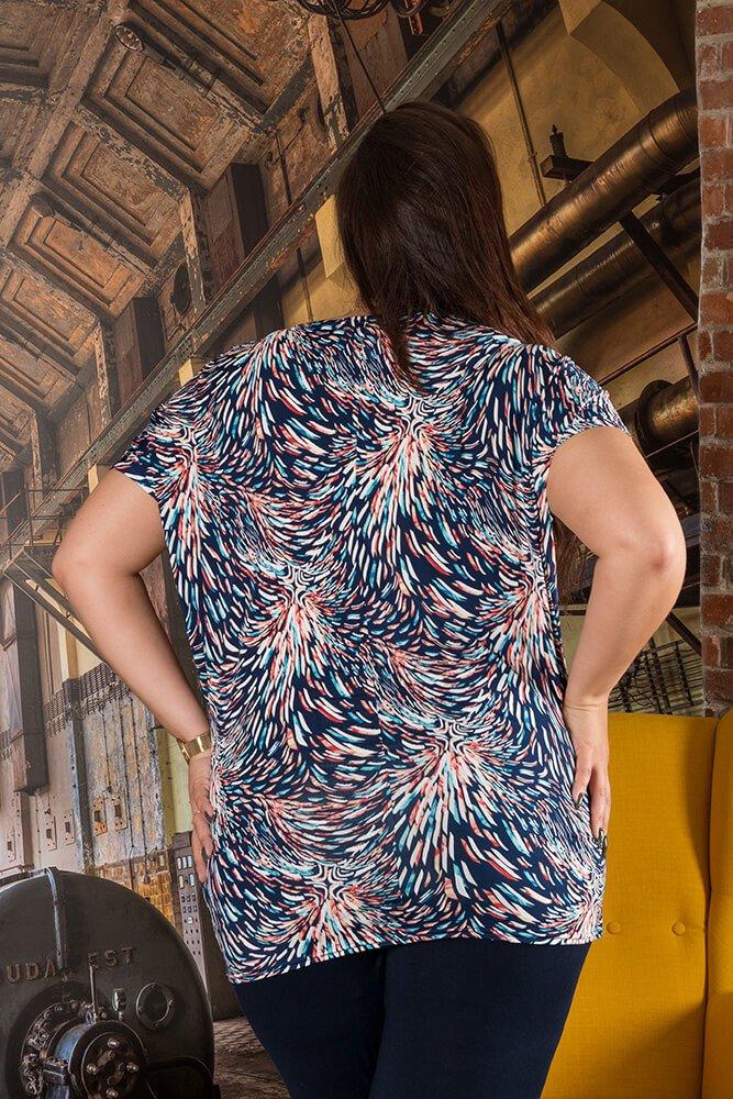 Bluzka AMELIA Plus Size wzór 2