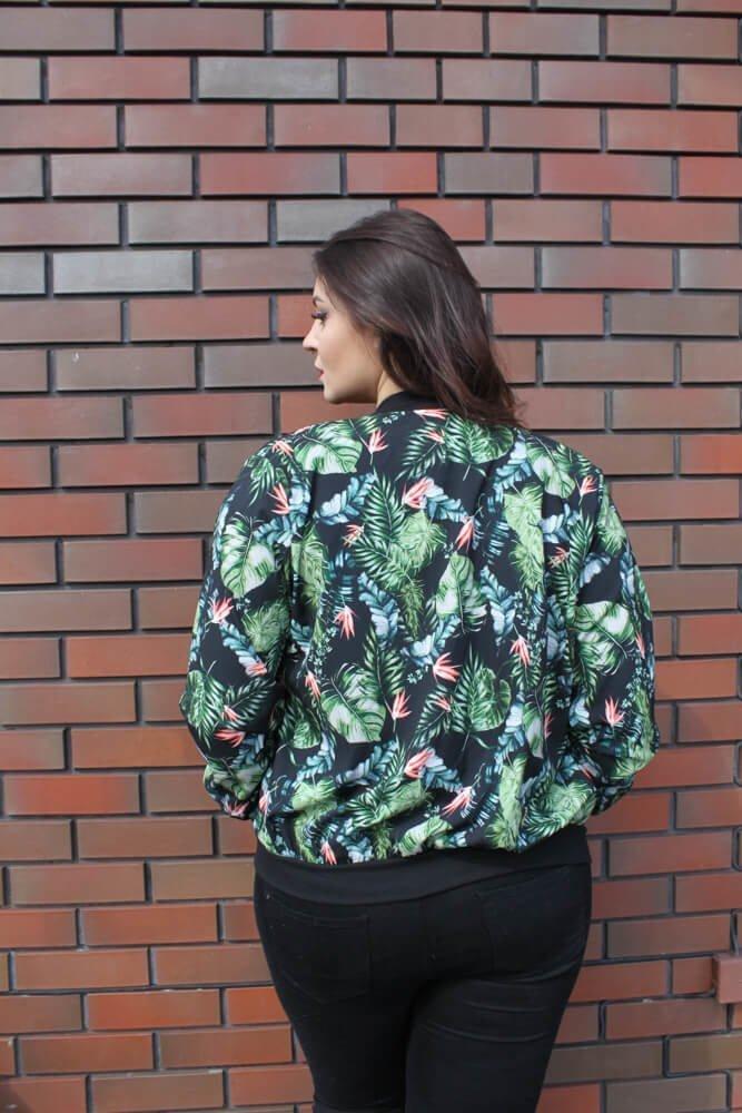 Bomberka Plus Size kurtka damska PRIMAVERA wzór 1