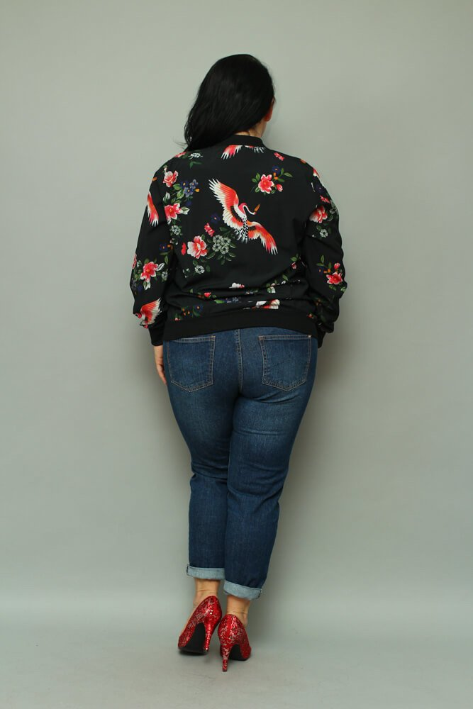 Bomberka Plus Size kurtka damska PRIMAVERA wzór 5