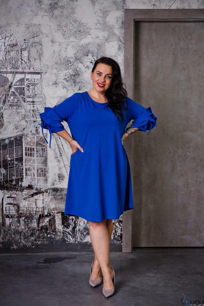 Chabrowa Sukienka AVRIL Plus Size