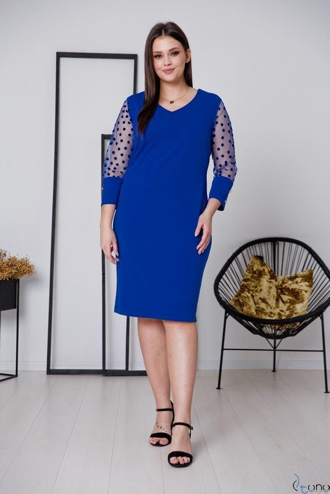 Chabrowa Sukienka BOFFINA Plus Size