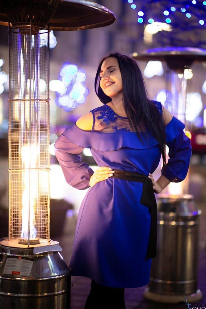 Chabrowa Sukienka INEZ Plus Size