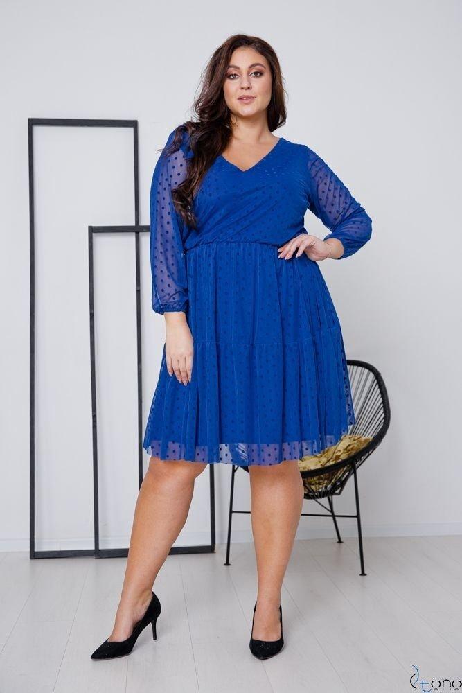 Chabrowa Sukienka MATTIA Plus Size