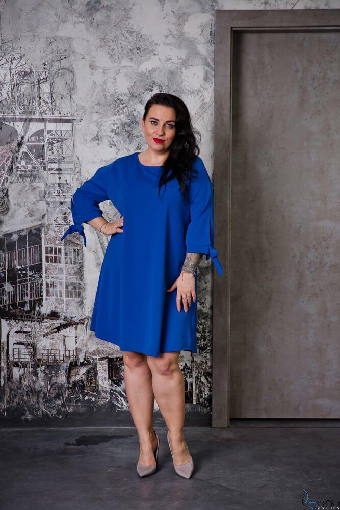 Chabrowa Sukienka MERCY Plus Size