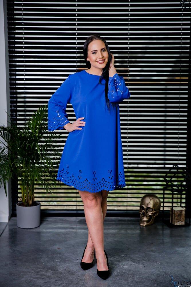 Chabrowa Sukienka STOFFA Plus Size
