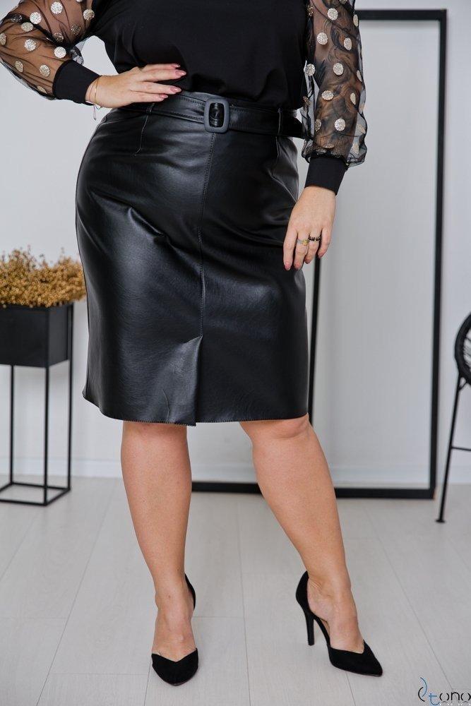 Czarna Spódnica HIDEN Plus Size