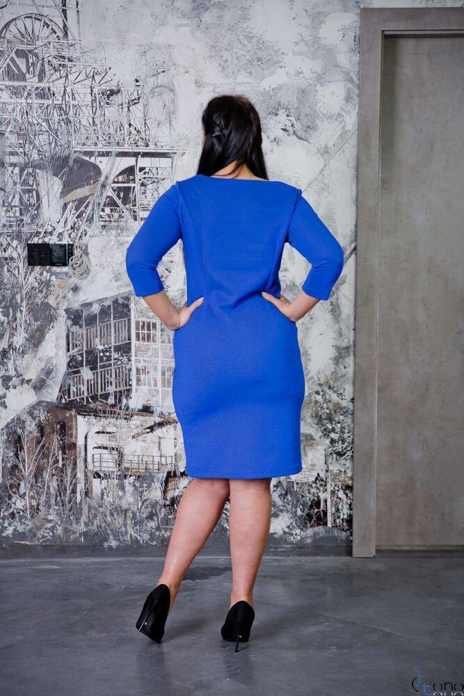 Chabrowa Sukienka CLAUDIA Plus Size