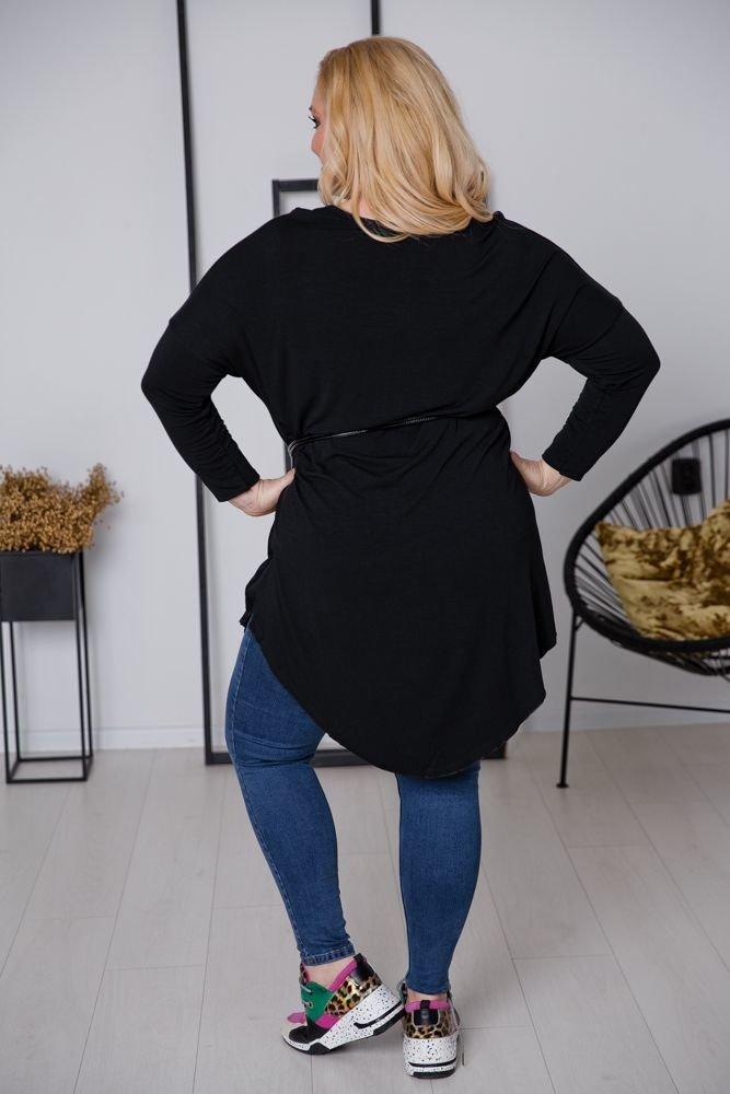 Czarna Tunika CAMOSA Plus Size