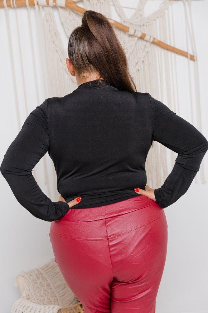 Czarne Body KAEDE Plus Size