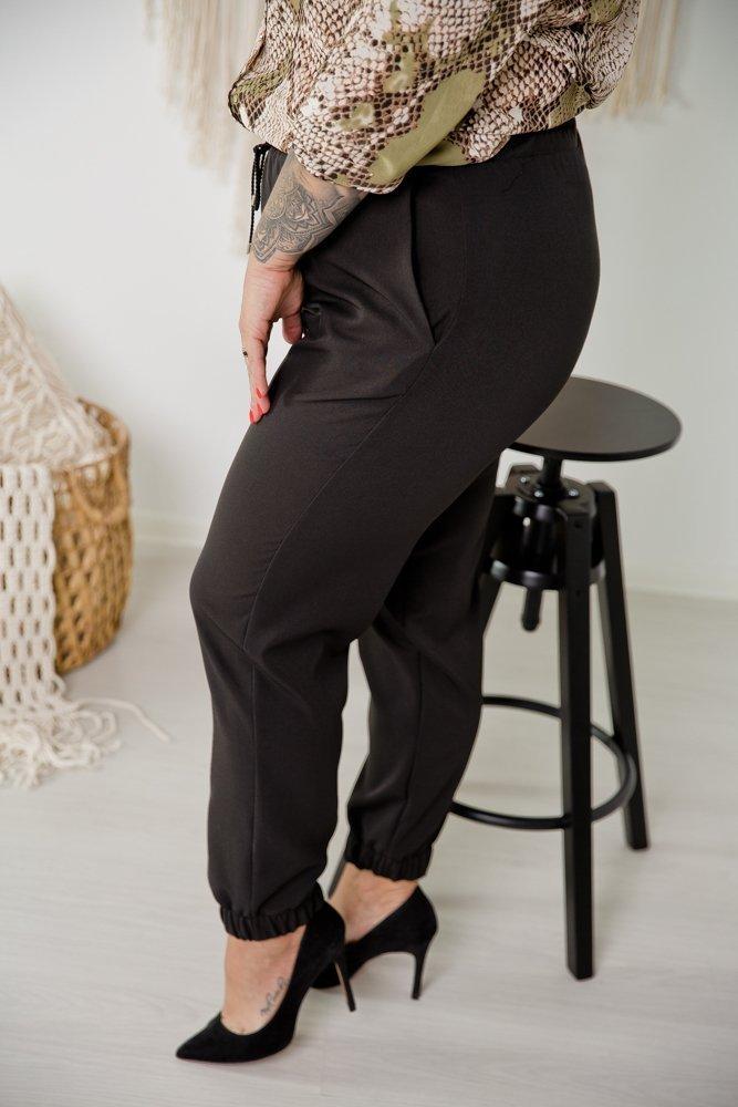Czarne Spodnie SLEEK Plus Size