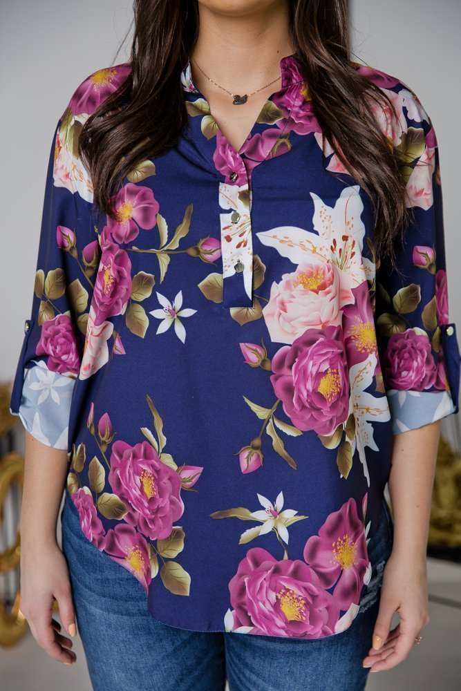 Koszula TONI Plus Size Wzór 5