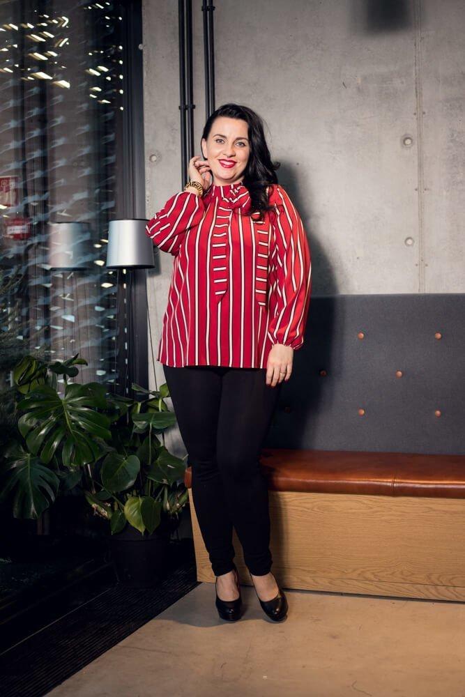 Koszula damska ENIMA Plus Size