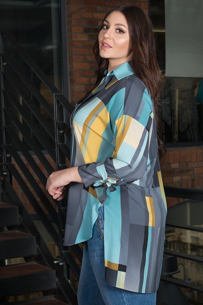 Koszula damska Oversize AURORA Plus Size