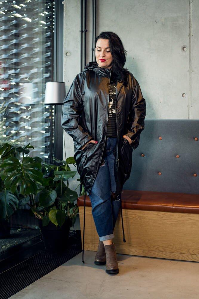 Kurtka damska RAIN Designerska Plus Size