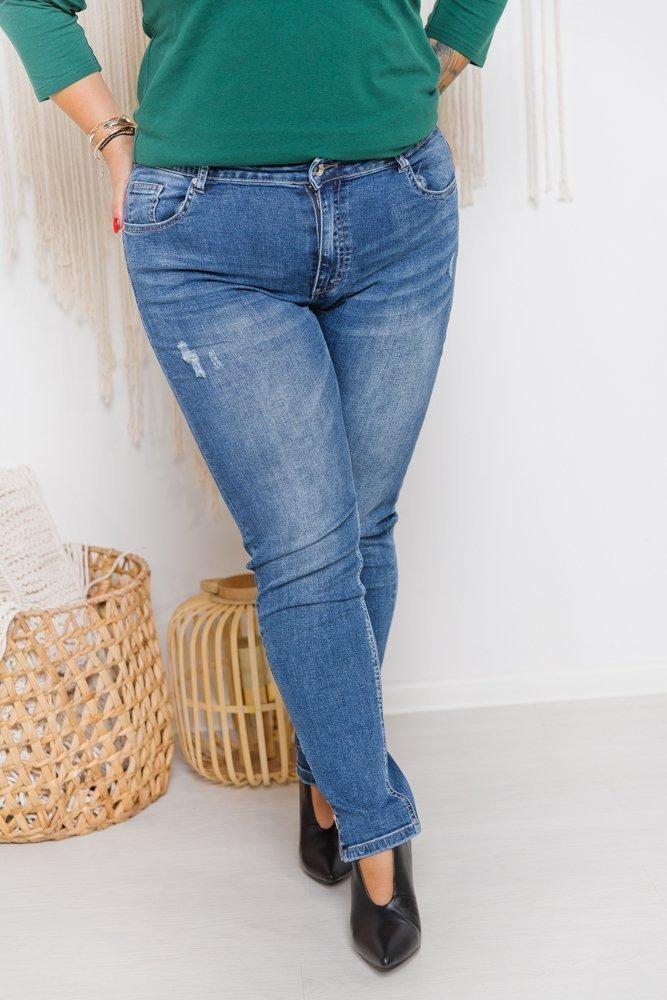 Niebieskie Jeansy TOKIO Plus Size