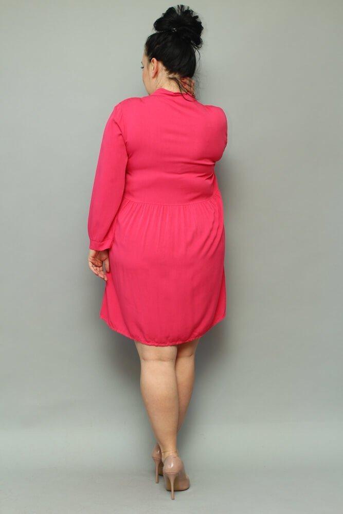 Różowa Sukienka ANCONA