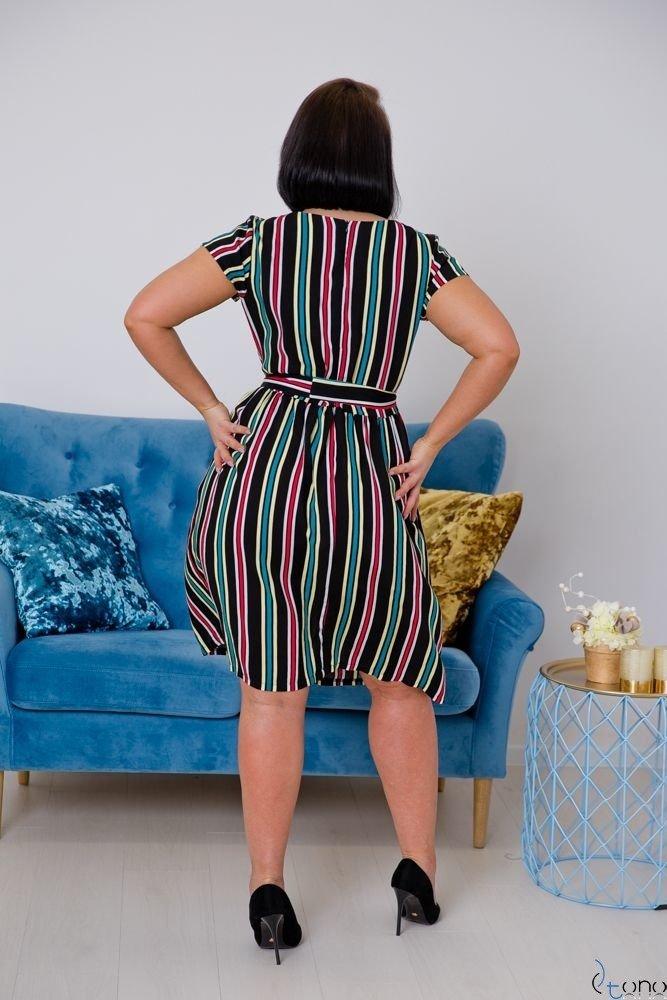 Sukienka AGOSTA Plus Size Wzór 8