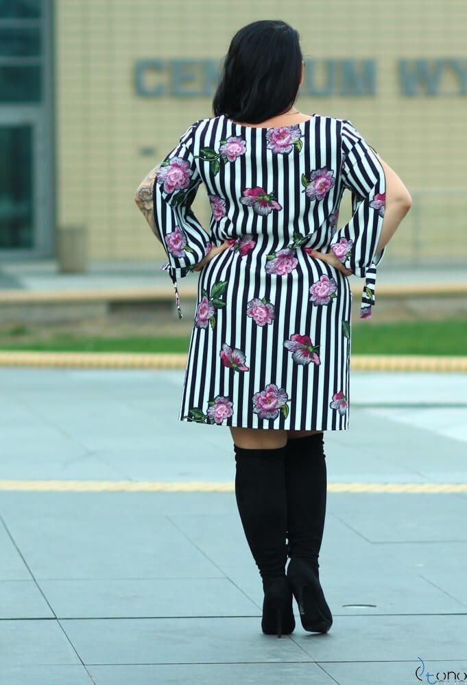 Sukienka GRACCIE Plus Size wzór 3