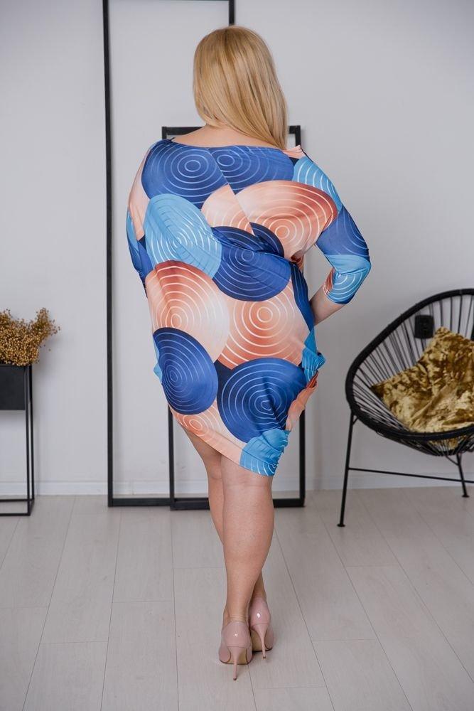 Sukienka PAGERA Plus Size Wzór 1