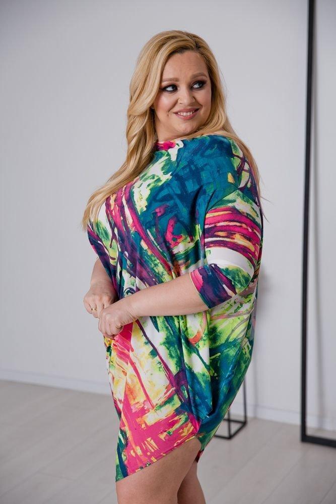 Sukienka PAGERA Plus Size Wzór 2