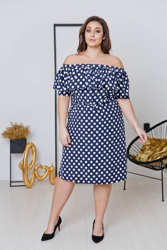 Sukienka SATIA Plus Size Wzór 2