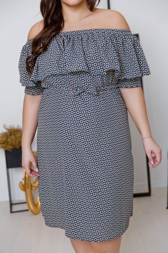 Sukienka SATIA Plus Size Wzór 3