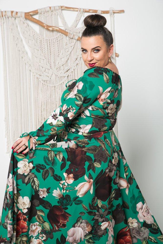 Sukienka VERNISE Plus Size Wzór 9