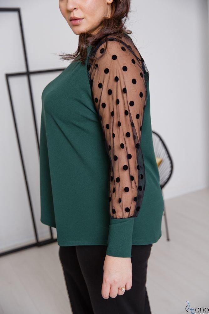 Zielona Bluzka RELIA Plus Size