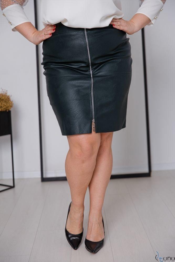 Zielona Spódnica DEZMA Plus Size