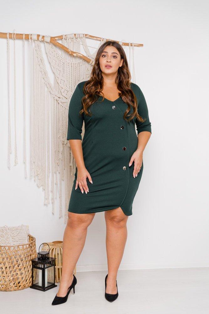 Zielona Sukienka NOTEBA Plus Size