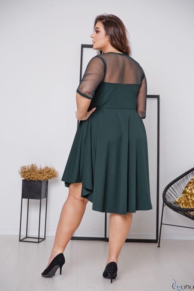 Zielona Sukienka VELOSIA Plus Size